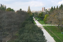 Jardines del Turia (Zhardines Affairs Turia) Valencia. Spain. Stock Images