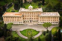Jardines del Vaticano Fotografía de archivo libre de regalías