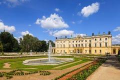 Jardines en Bialystok Foto de archivo