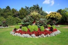 Jardines en el castillo de Wentworth Imagenes de archivo