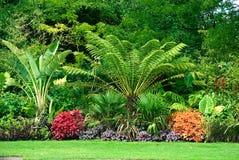 Jardines en parque Imagen de archivo