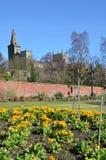 Jardines en parque Fotos de archivo