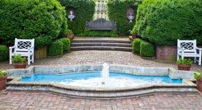 Jardines formales Imagen de archivo libre de regalías