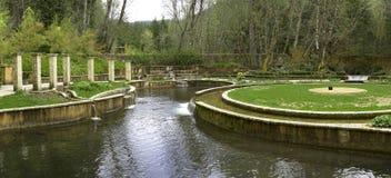Jardines hermosos Fotografía de archivo
