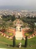 Jardines hermosos de Haifa Israel Fotos de archivo libres de regalías