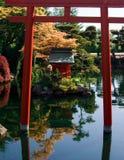 Jardines japoneses Fotos de archivo