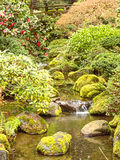 Jardines japoneses Portland Oregon Imagenes de archivo