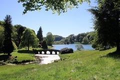 Jardines majestuosos. Imagen de archivo libre de regalías