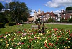 Jardines municipales Foto de archivo