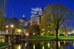 Jardines públicos de Boston imágenes de archivo libres de regalías