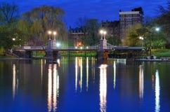 Jardines públicos de Boston imagenes de archivo