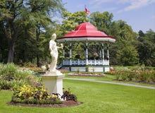 Jardines públicos, Halifax, Nueva Escocia Foto de archivo