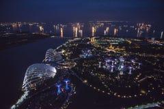 Jardines por la bahía Singapur Fotografía de archivo