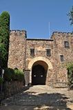 Jardines y castillo del roig del casquillo Fotos de archivo