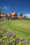 Jardines y museo, Rotorua, Nueva Zelanda del gobierno Imagen de archivo