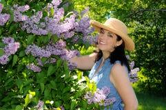 Jardinière de femme Image stock