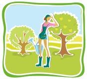 Jardinier Photos stock