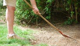 Jardinier prêt à fonctionner Image libre de droits