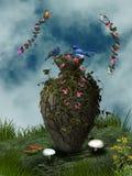 The jardiniere Royalty Free Stock Image