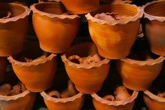 Jardiniere gebackener Lehm Lizenzfreie Stockbilder