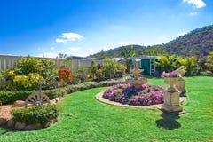 Jardins aménagés en parc image libre de droits