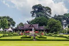 Jardins botânicos Bogor, Java ocidental, Indonésia fotografia de stock