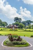 Jardins botânicos Bogor, Java ocidental, Indonésia imagens de stock royalty free