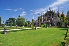 Jardins botânicos de Borromeo, bella de Isola Fotos de Stock