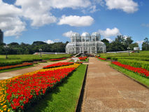 Jardins botânicos de Curitiba Foto de Stock Royalty Free