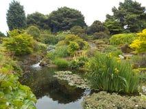 Jardins botânicos reais espetaculares, Edimburgo, Escócia fotografia de stock
