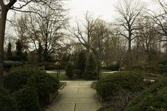 Jardins botaniques à Cleveland photographie stock libre de droits