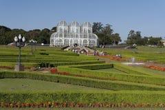 Jardins botaniques Curitiba Photo stock