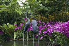 Jardins botaniques de Singapour photographie stock