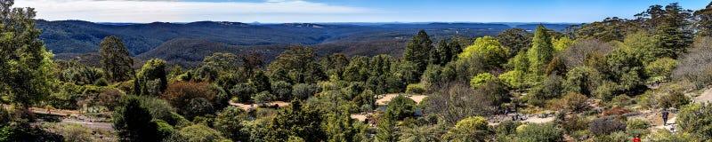 Jardins botaniques de Tomah de bâti, NSW photo stock
