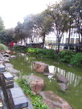 Jardins Changhaï de Yu Image stock