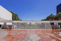 Jardins D'agua,达瓜或者de Agua的瀑布 库存图片