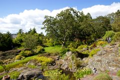 Jardins d'Abkhazi, Victoria Image stock