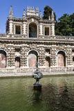 Jardins d'Alcazar de Séville Images stock