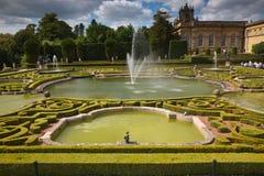 Jardins d'endroit de Blenheim Photo libre de droits