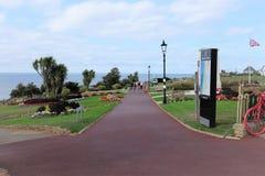 Jardins d'esplanade, Hunstanton, Norfolk images stock