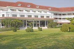 Jardins d'hôtel Photo libre de droits