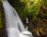 Jardins da cachoeira de LaPaz - paisagem Fotos de Stock Royalty Free
