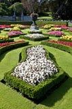 Jardins da casa de Lanhydrock Fotos de Stock Royalty Free