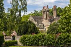 Jardins da granja de Southover em Lewes Fotografia de Stock Royalty Free