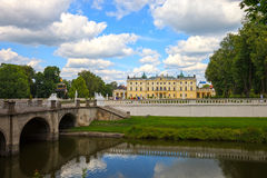 Jardins dans Bialystok Photo stock