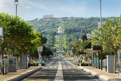 Jardins de Bahai à Haïfa Photo stock