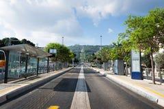 Jardins de Bahai à Haïfa Photographie stock