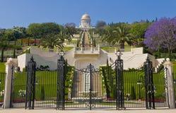 Jardins de Bahai Photo stock