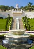 Jardins de Bahai Image stock