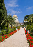 Jardins de Bahai Photo libre de droits